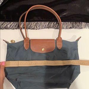 Médium Longchamp Navy Tote Bag